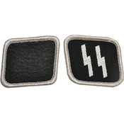 Ss Collar Tabs Pair Wholesale Bulk