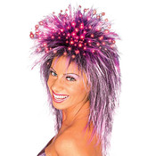 Fiber Optic Wig Purple