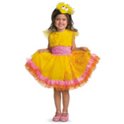 Sesame St Big Bird Frilly 2T