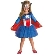 Captain America Daughter 3T-4T Wholesale Bulk