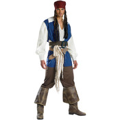 Jack Sparrow Quality Pirates Costume Adult