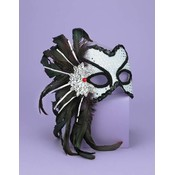 Venetian Couple Mask Wt/Black Wholesale Bulk