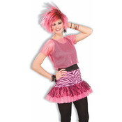 Women's Costume Pop Party Skirt- Pink Wholesale Bulk