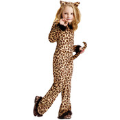 Pretty Leopard Halloween Costume Child 4-6
