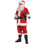 Santa Suit Economy 40-48 (Pack of 1)