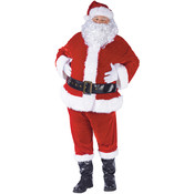 Santa Suit Complete Velour 40-48 (Pack of 1)