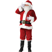 Santa Suit Complete Velour Plus 50-54 (Pack of 1)