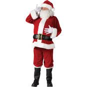 Santa Suit Complete Velour Plus 50-54 (Pack of 1)