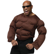 Costume Accessory: Muscle Chest- African American Wholesale Bulk