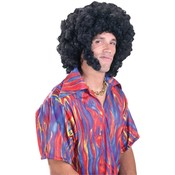 Afro Wig w/Sideburns Wholesale Bulk