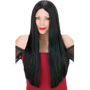 Wig 25 Inch Witch Black Wholesale Bulk