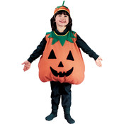 Toddler Girl's Costume: Plump Pumpkin 4T-6T