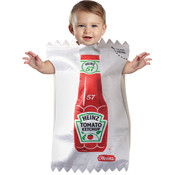 Baby Boy's Costume: Heinz Ketchup Packet Bunting, 3-9 Months Wholesale Bulk