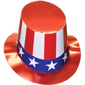 Uncle Sam Hat Cardboard 1Sz