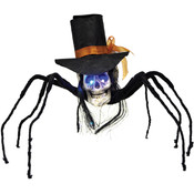 Skull Spider w/Top Hat 35""
