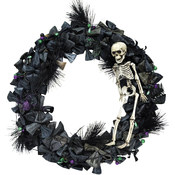 Wreath With Skeleton