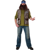 Men's Costume: Duck Dynasty Willie- One Size