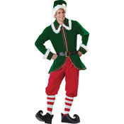 Santa'S Elf Adult Md (38-40)(Pack of 1)