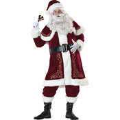 Jolly Ol' St Nick Deluxe Costume- Medium 38-40