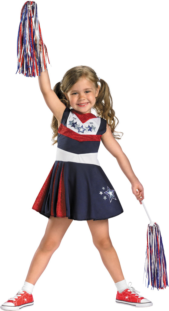 Wholesale Girl's Sports Costumes - Girl's Cheerleading Cheap Costumes