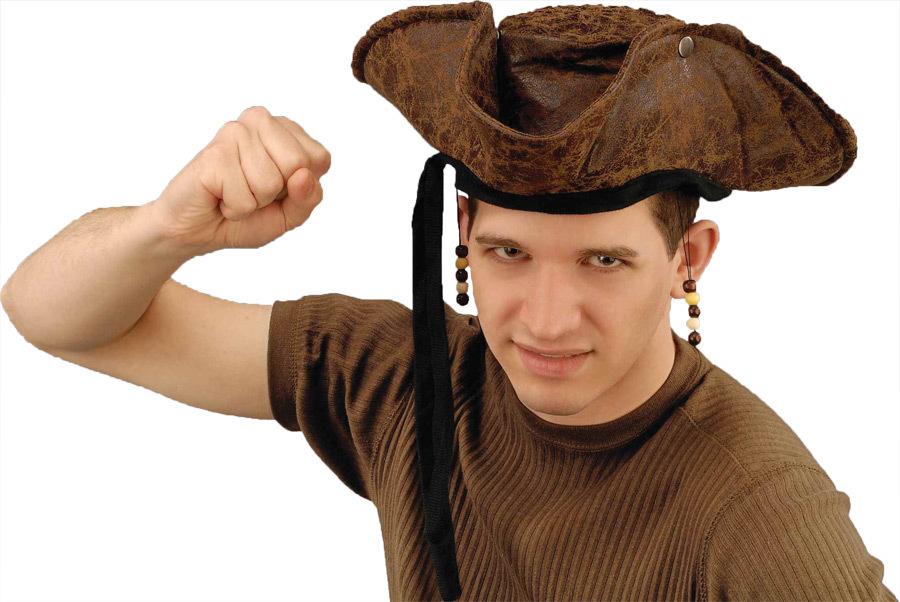 COSTUME Accessory: Pirate Hat Distressed [1927302]