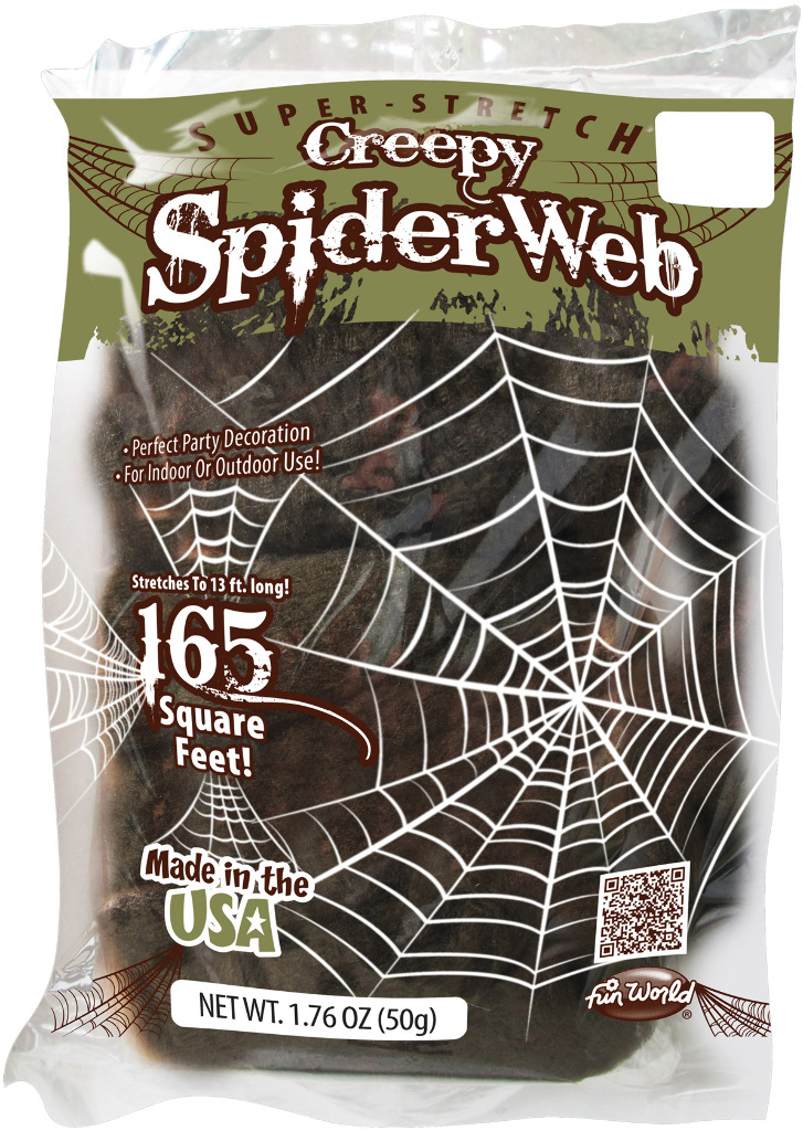 HALLOWEEN Prop: Spiderweb Creepy 50 Gm [1998969]