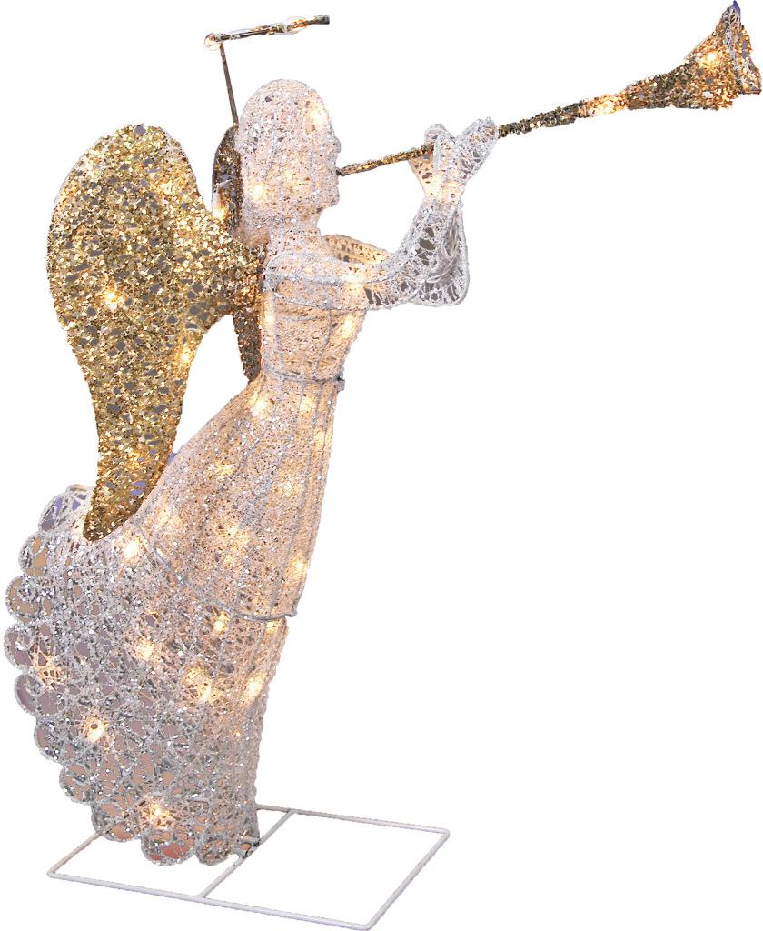 CHRISTMAS Supplies: Rockefeller Angel Decor 36 In [1928232]