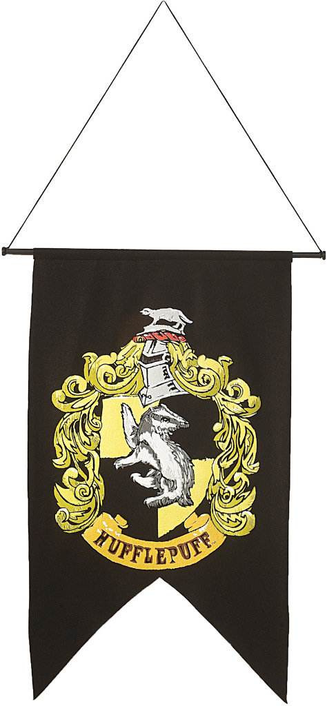 Halloween Decorations: HARRY POTTER Hufflepuff Banner (1928705)
