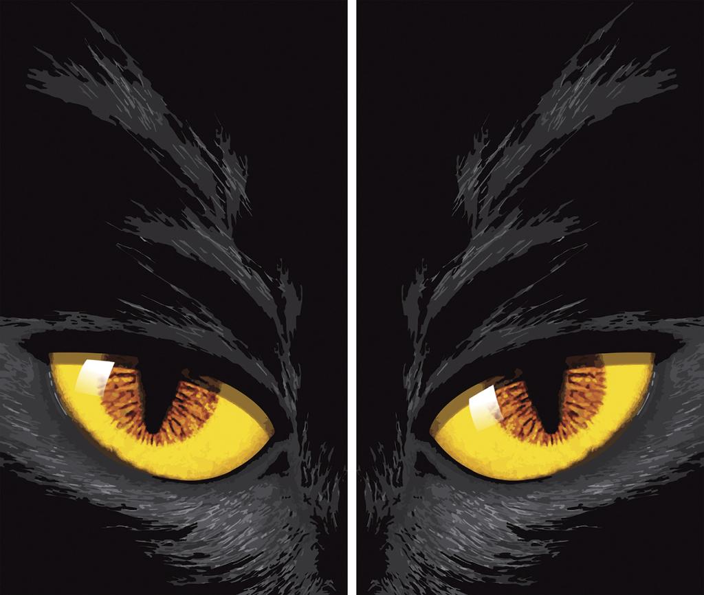 Wholesale Halloween Prop: Yellow Eyed Cat Window Poster (SKU 2002963 ...: https://www.dollardays.com/i2002963-wholesale-halloween-prop-yellow...