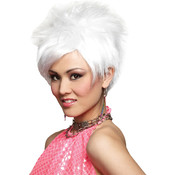 Costume Wig: White Vivid Wholesale Bulk