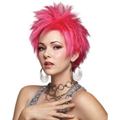 Costume Wig: Hot Pink Vivid Wholesale Bulk