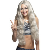Hippie Costume Wig w/Headband-ray
