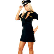 Mile High Captain Women's Plus Costume 1X/2X