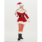 Miss Santa Costume - Adult Small (Pack of 1)