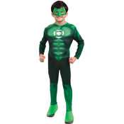 Hal Jordan/Green Lantern Boy's Deluxe Costume- Small Wholesale Bulk