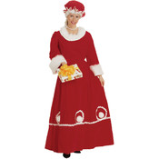 Mrs. Santa Adult Small (Pack of 1)