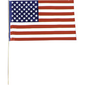 Flag Plastic Us 1 Flag