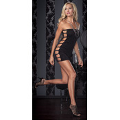 Slinky Tube Dress W Open Side