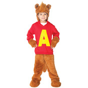 Alvin Chipmunk Child Costume- Small