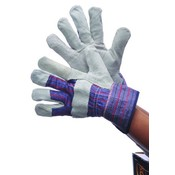 Leather Patch Palm Gloves