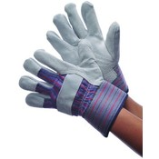 Economy Shoulder Leather Palm Gloves
