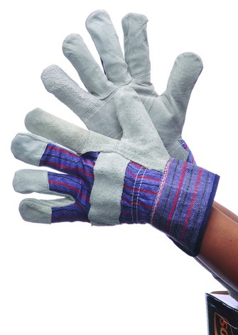 LEATHER Patch Palm GLOVES (635299)