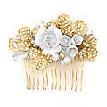 Kyra's Bridal Hair Comb - Gold