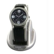 Highway Honey™ Women's Watch, Black Mini Skulls