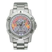 Chrome Biker Watch, Fear No Evil