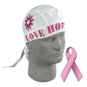Flydanna&amp;reg;, 100% Cotton, Breast Cancer Love Hope Live