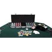 Texas Hold 'Em Poker Combo Pack w/ Table Top