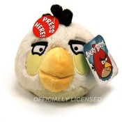 "5"" Angry Birds White Bird with Sound & Officially"