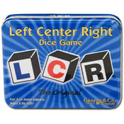 LCR, left center right dice game, the original