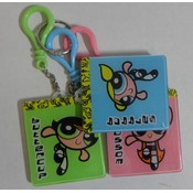 Powerpuff Girls Keychain Set